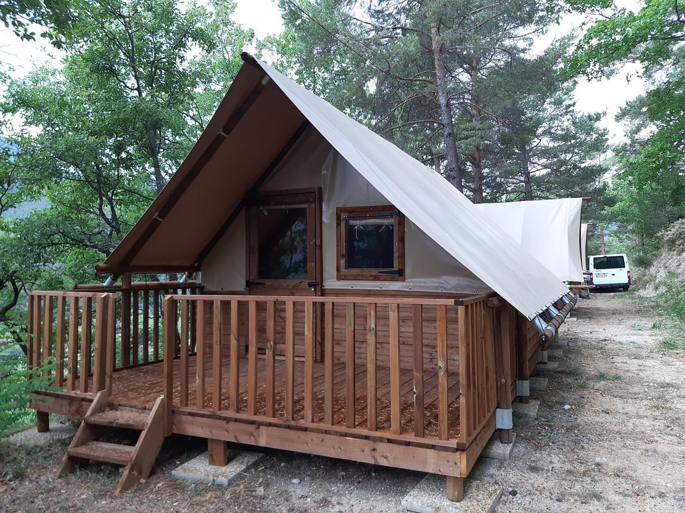 Location - Tente Lodge Amazone - Camping Club Origan Domaine Naturiste