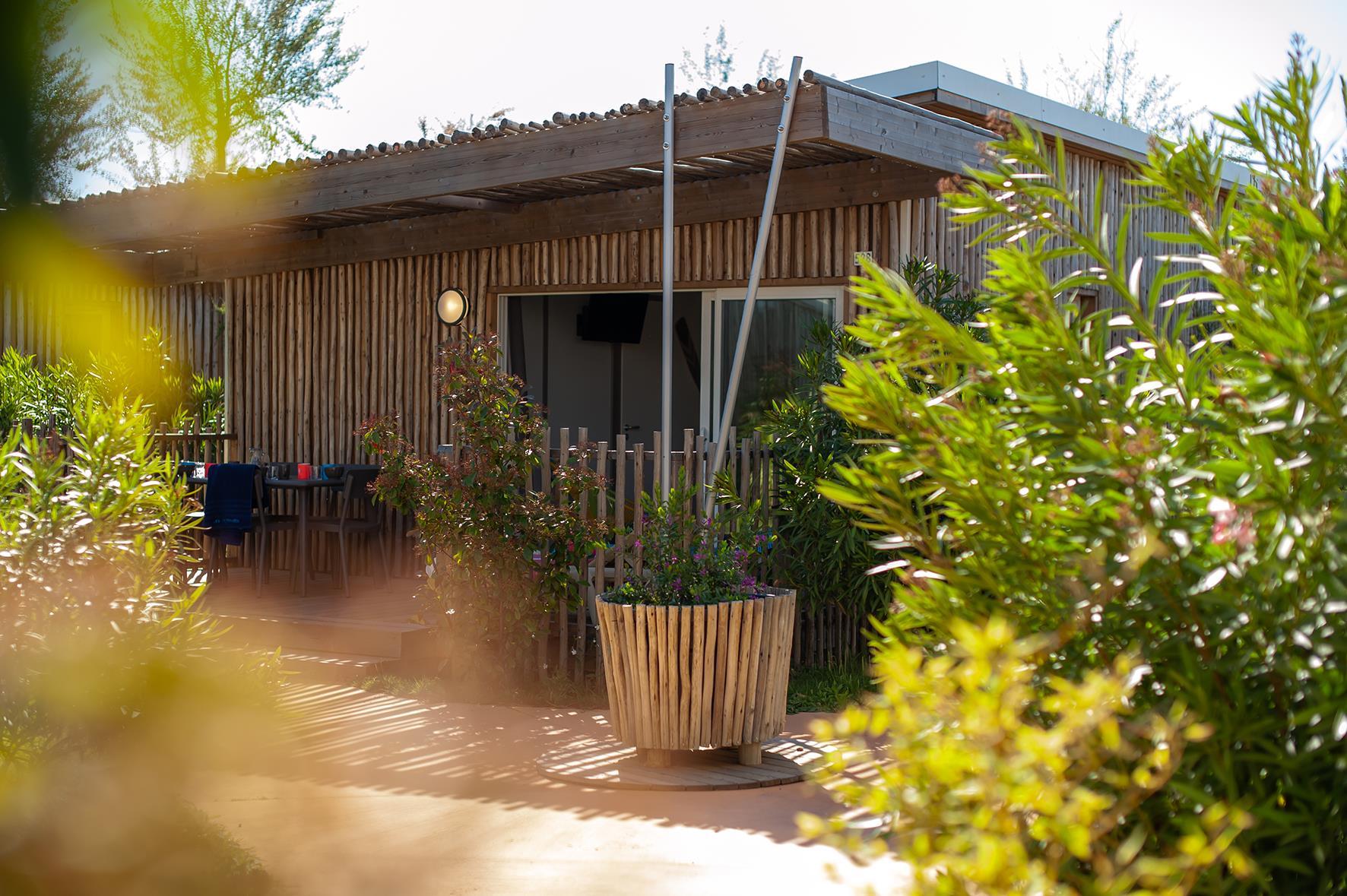 Location - Maison Du Bagnas Signature 4 Pers. - Camping Les Méditerranées Beach Garden