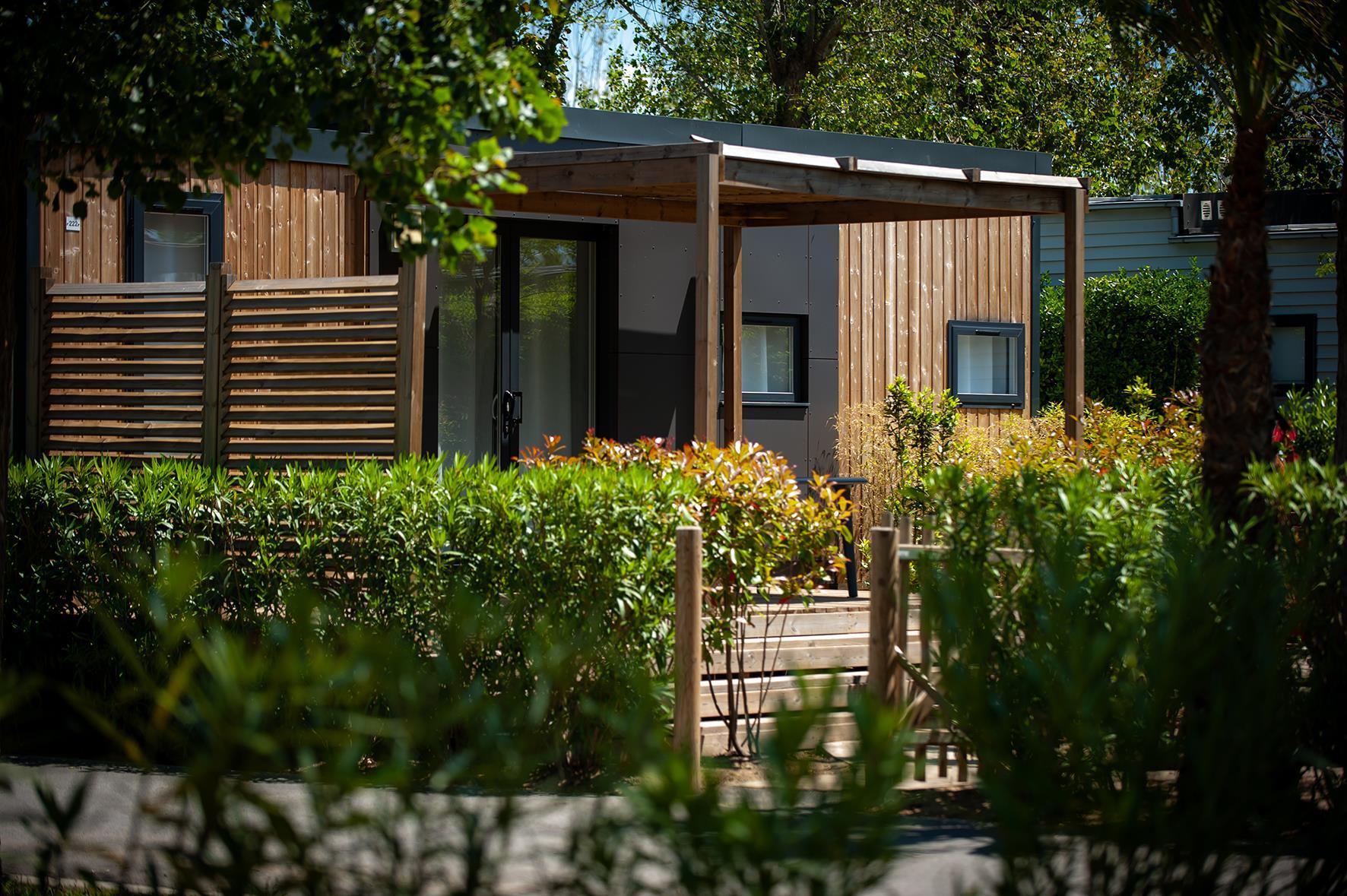 Location - Maison Des Sables Signature 5 Pers. - 2 Salles D'eau + 2 Wc - Camping Les Méditerranées Beach Garden