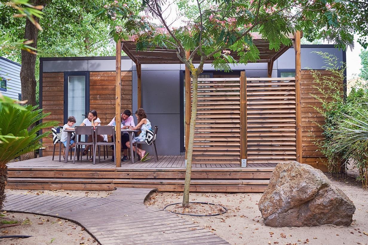 Location - Maison Des Sables Signature 6 Pers. - 2 Salles D'eau + 2 Wc - Camping Les Méditerranées Beach Garden
