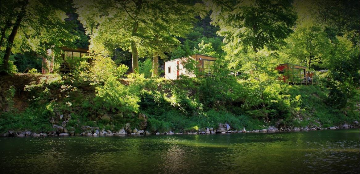Yelloh! Village Nature et Rivière, Sainte-Enimie, Lozère