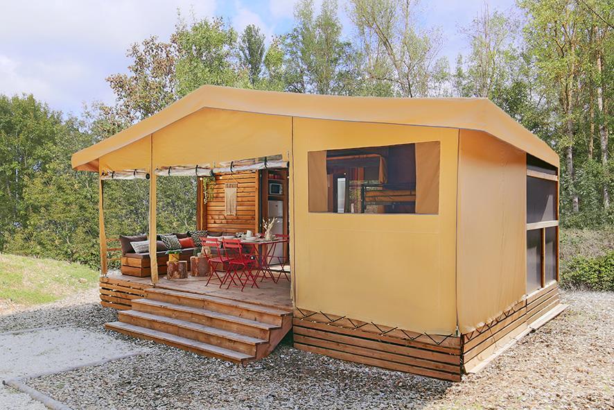 Location - Safari Lodge - Max 4 Pers. - Vakantiepark Koningshof