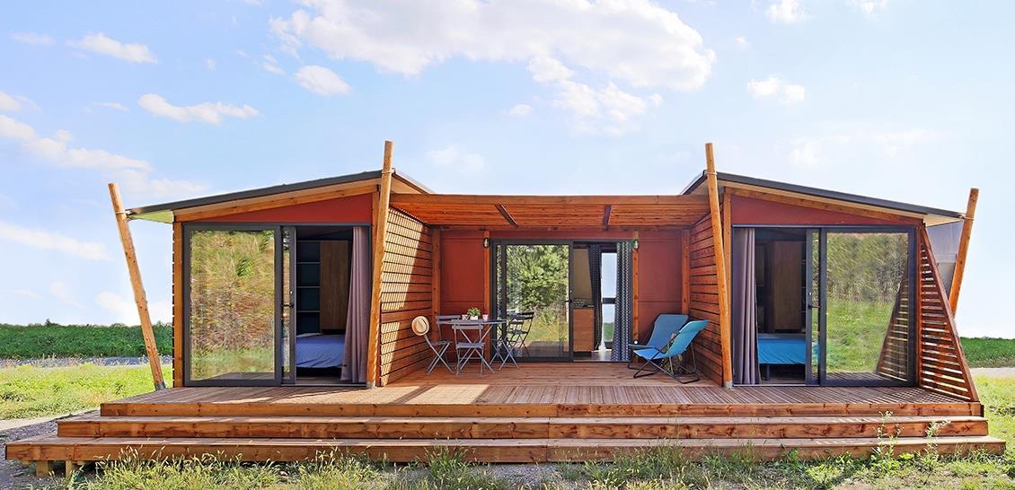 Location - Premium Lodge Avec Lave-Vaisselle - Vakantiepark Koningshof