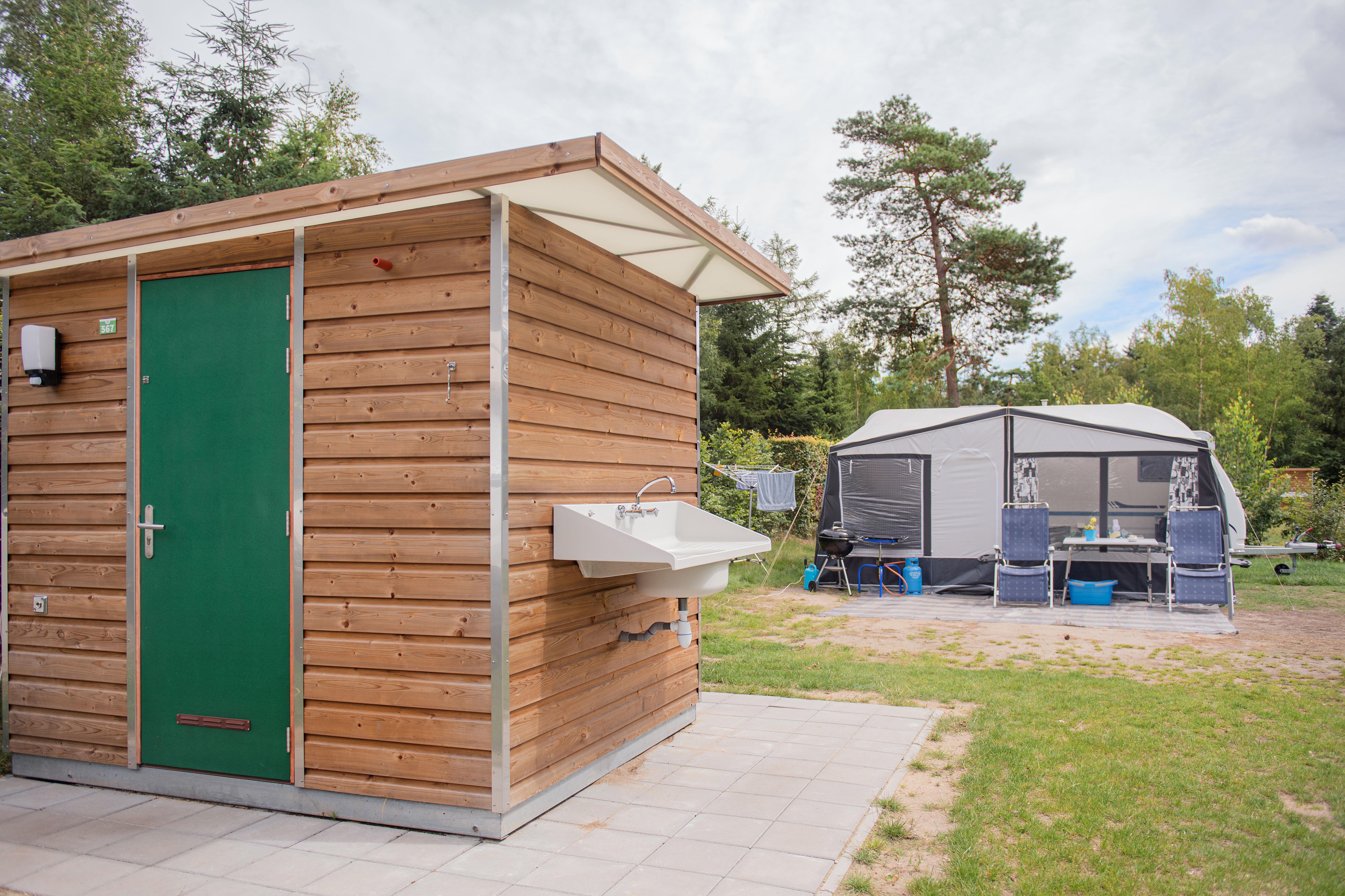Emplacement - Emplacement Confort Deluxe Avec Sanitair Privé - Vakantiepark Koningshof