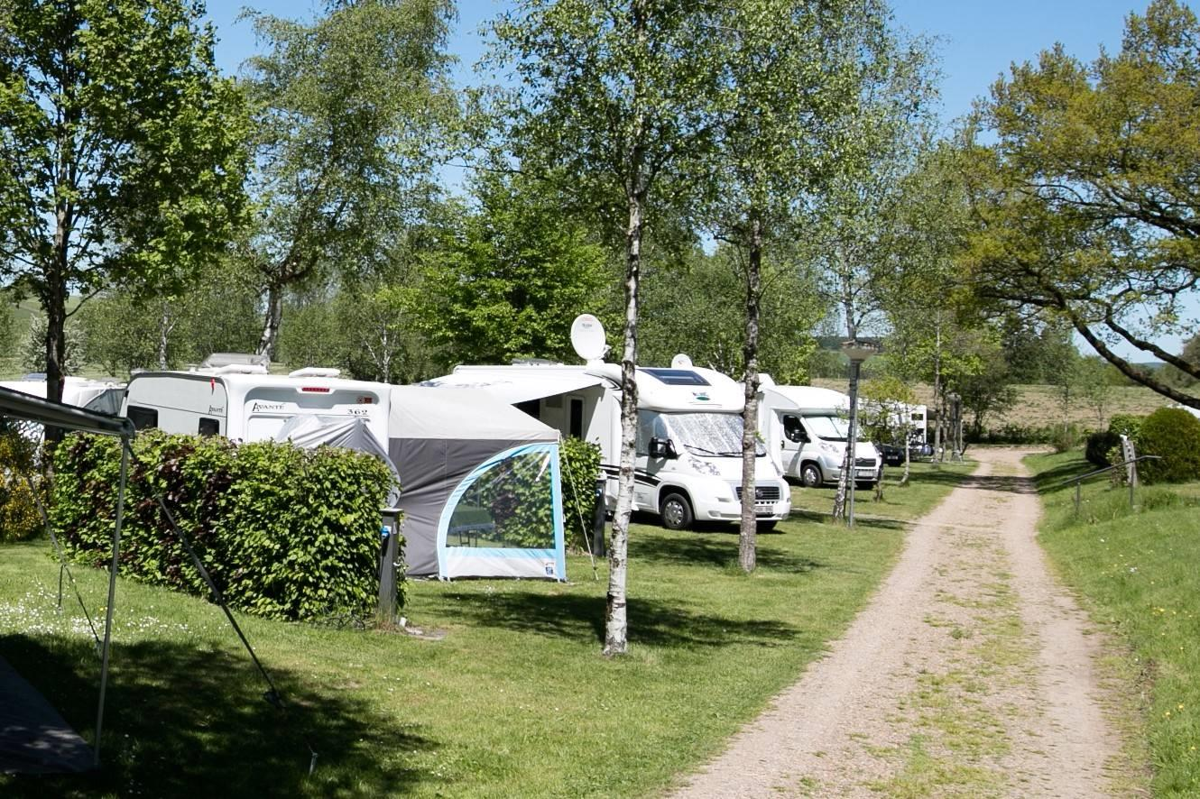 Camping Plot Plus 100 M² (Incl. 2 Pers. + 10A Electricity)