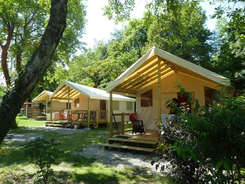 Accommodation - Ecolodge - Covered Terrace (2 Bedrooms) - Camping Saint Disdille