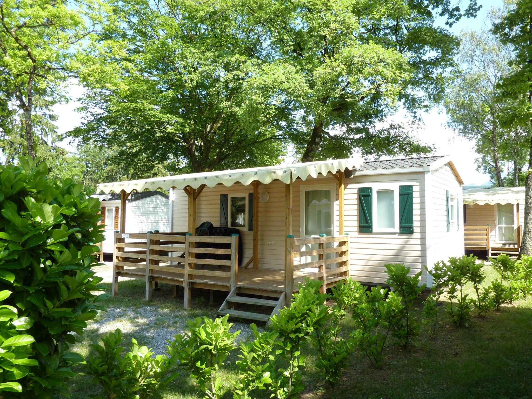 Location - Mobilhome Leman (9-12Ans) 29M² - Terrasse Couverte 12M² (2 Chambres) - Camping Saint-Disdille