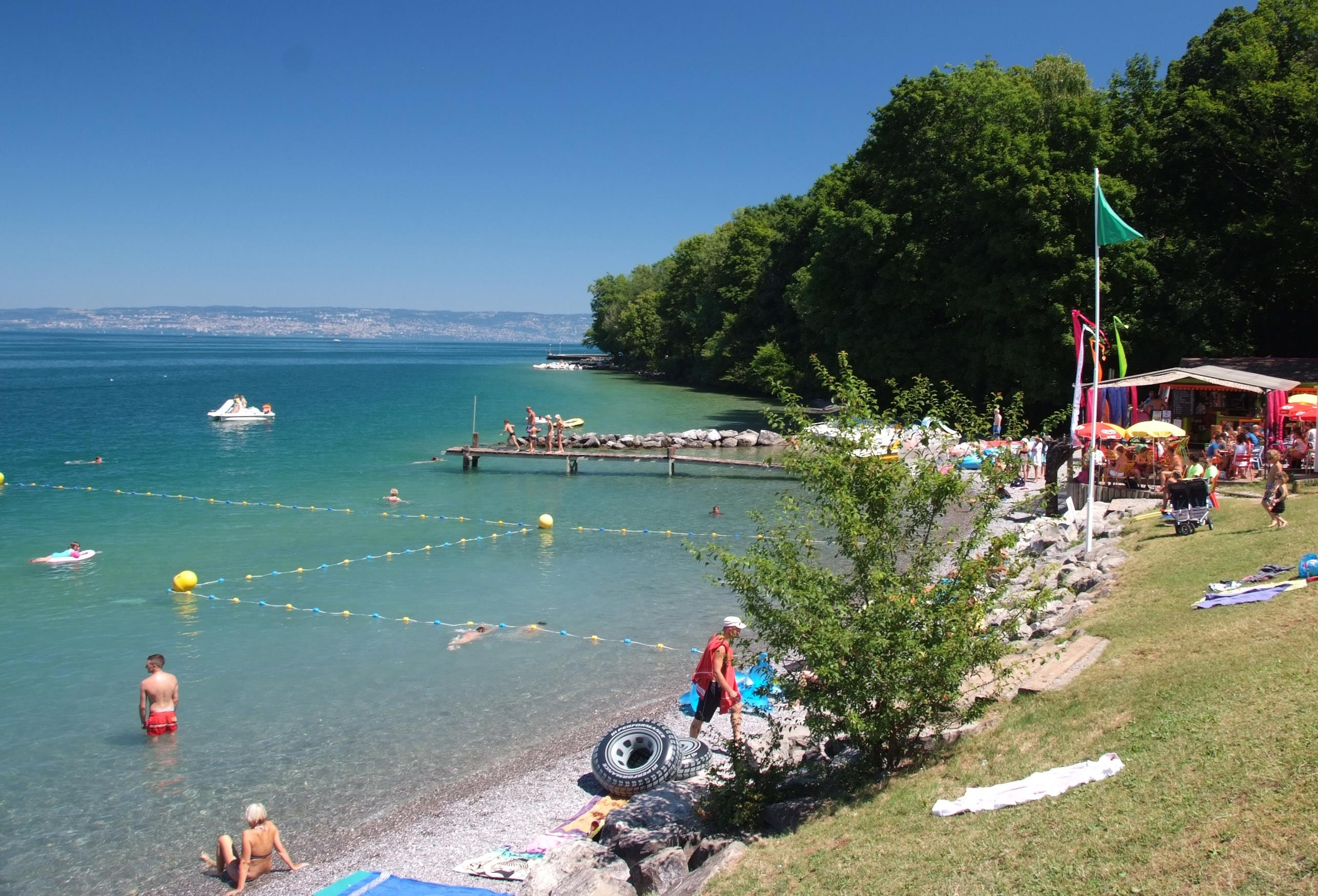 Camping Saint Disdille, Thonon-les-Bains, Haute-Savoie