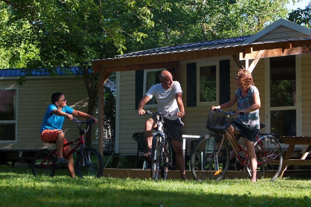 Camping l'Eau Vive, Carennac, Lot