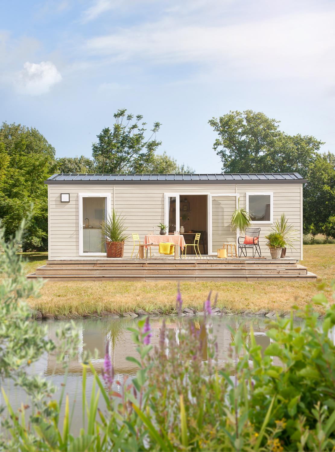 Location - Cottage Family Grand Luxe 3 Ch - Camping L'Eau Vive