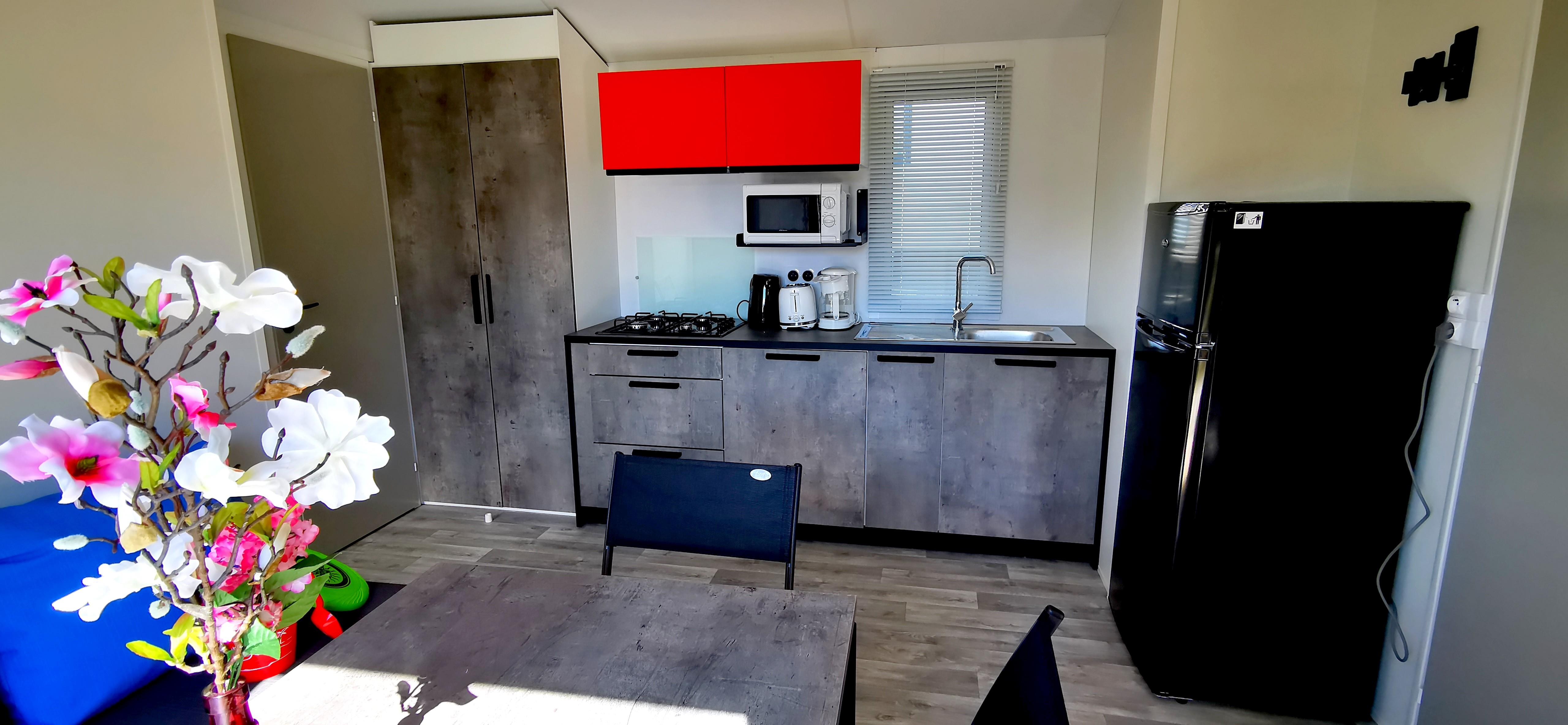 Cottage MALAGA 2020-35m² (sheltered terrace + air co)