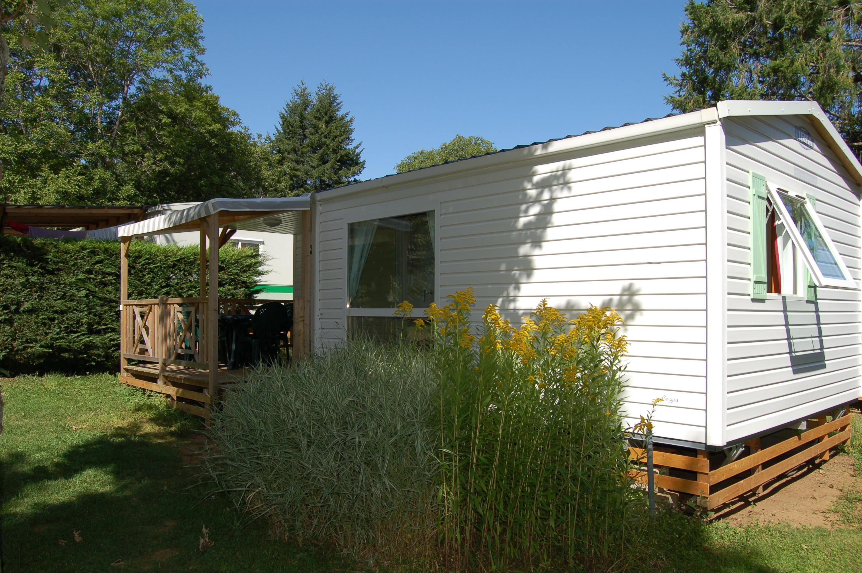 Résidence LOGGIA  - 2 chambres - équipée TV - terrasse intégrale couverte - transat