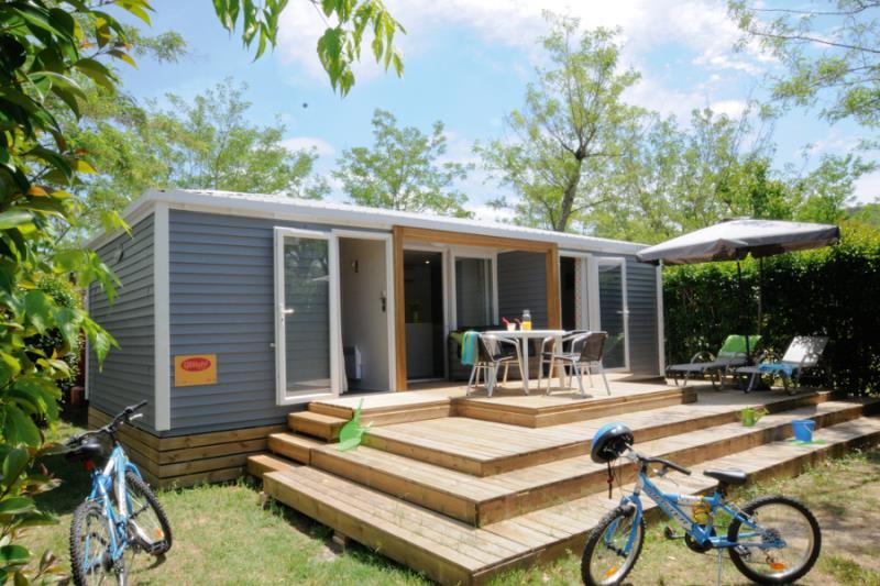 Location - Cottage **** 2 Chambres / 2 Salles De Bain - Terrasse - Climatisé - Yelloh! Village Soleil Vivarais