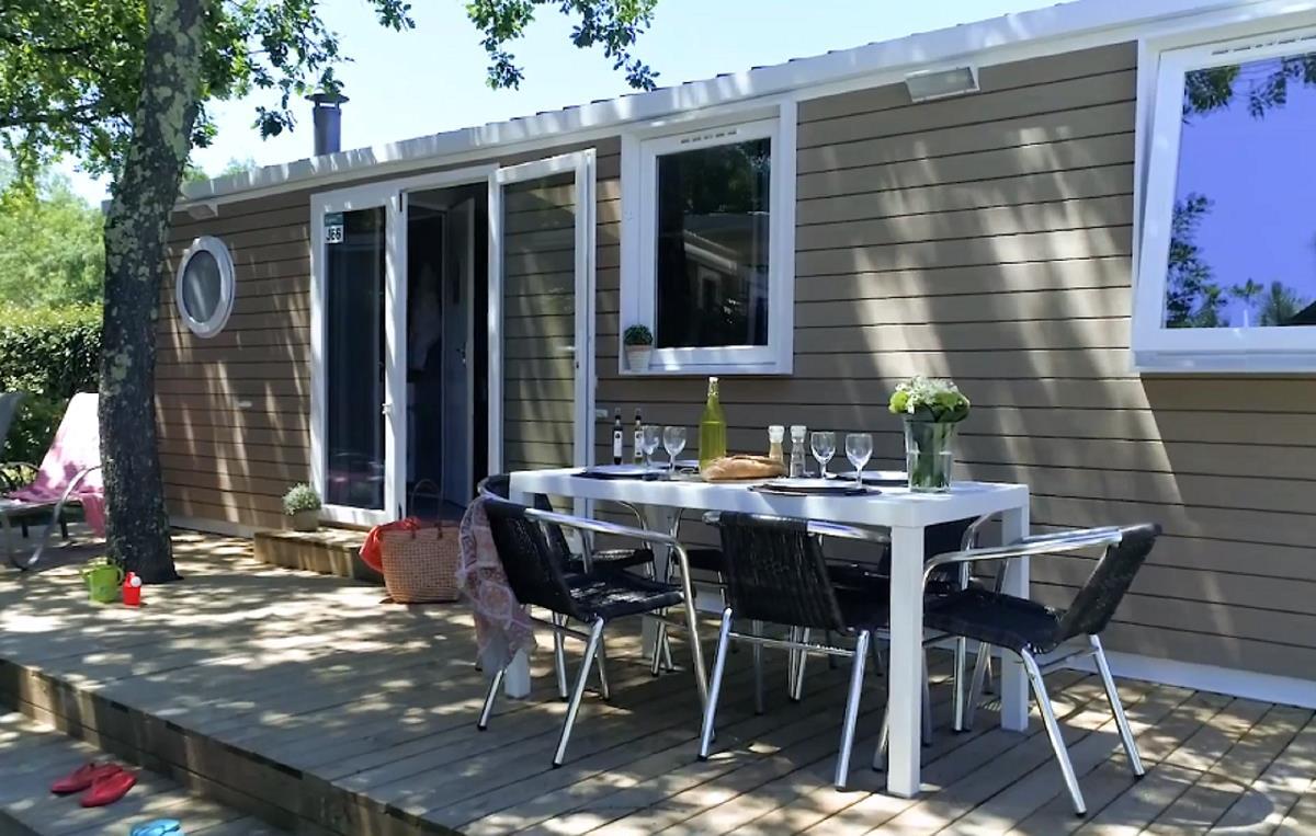 Location - Cottage *** 3 Chambres - 31 M²-  Terrasse - Climatisé - Yelloh! Village Soleil Vivarais