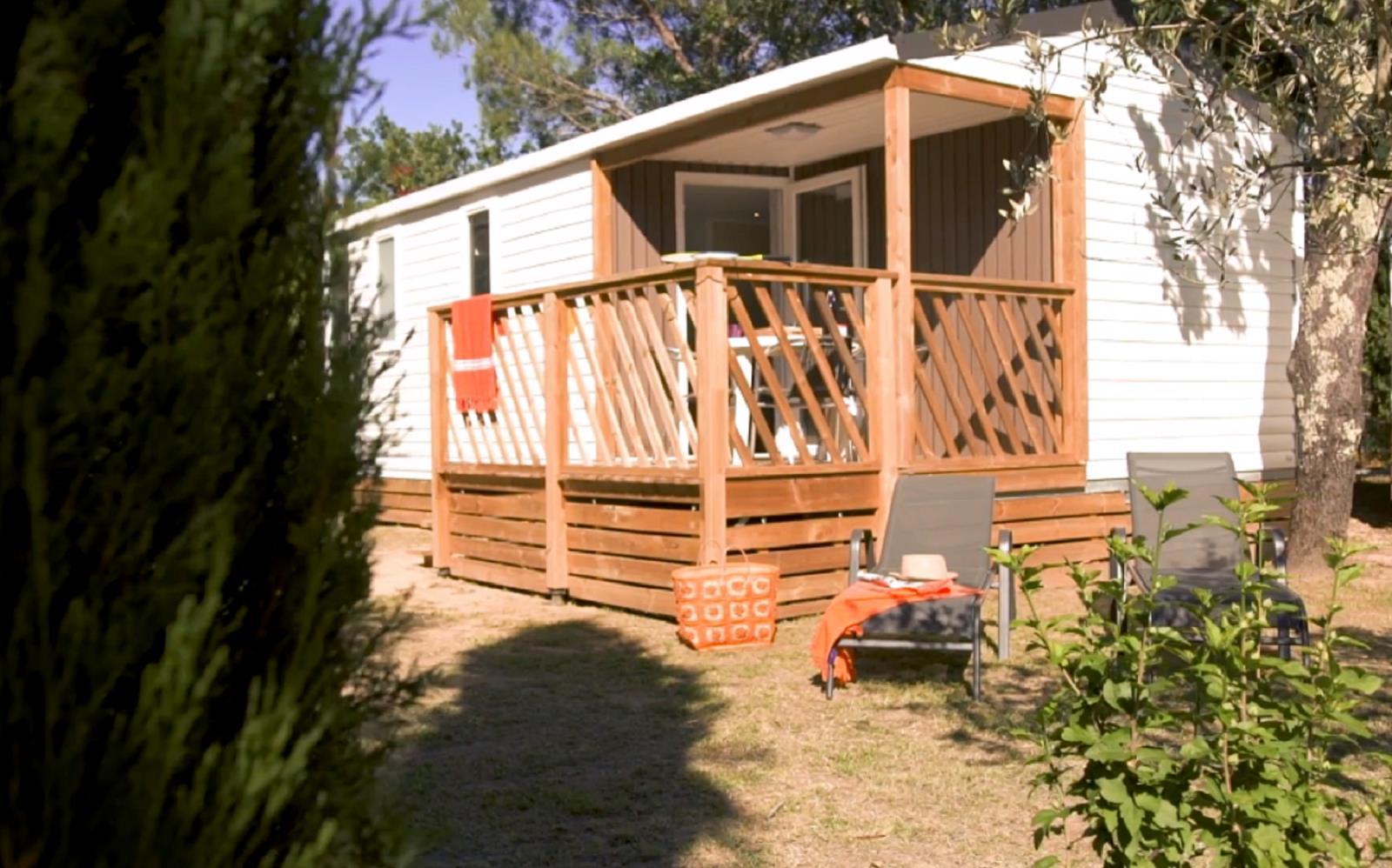 Location - Cottage *** 2 Chambres Climatisé - 27M² - Terrasse - Yelloh! Village Soleil Vivarais