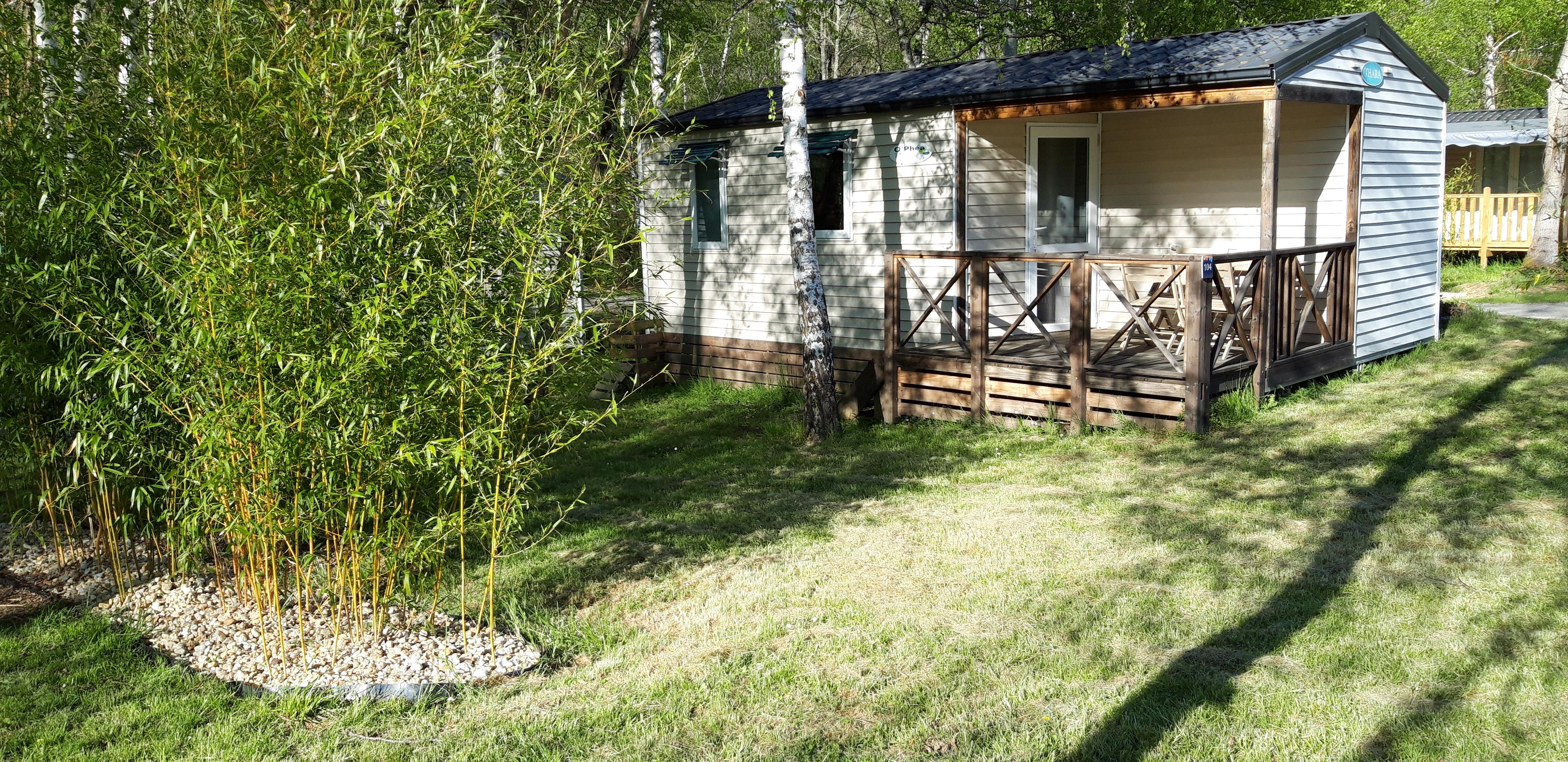 Location - Mobilhome Confort (2 Chambres) - Flower Camping Les Gorges de l'Aveyron