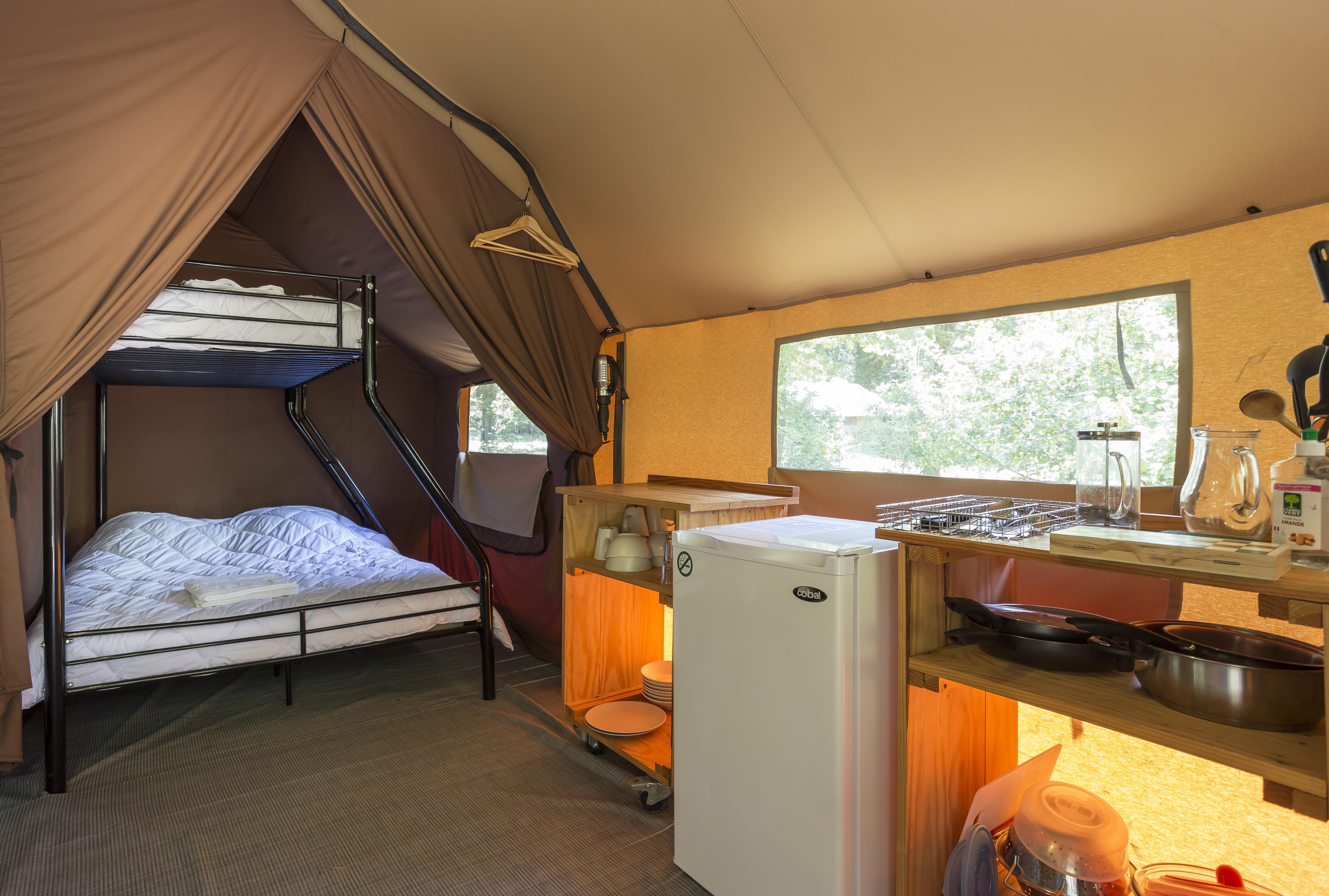 Location - Tente Canadienne Ii - Camping La Pinède
