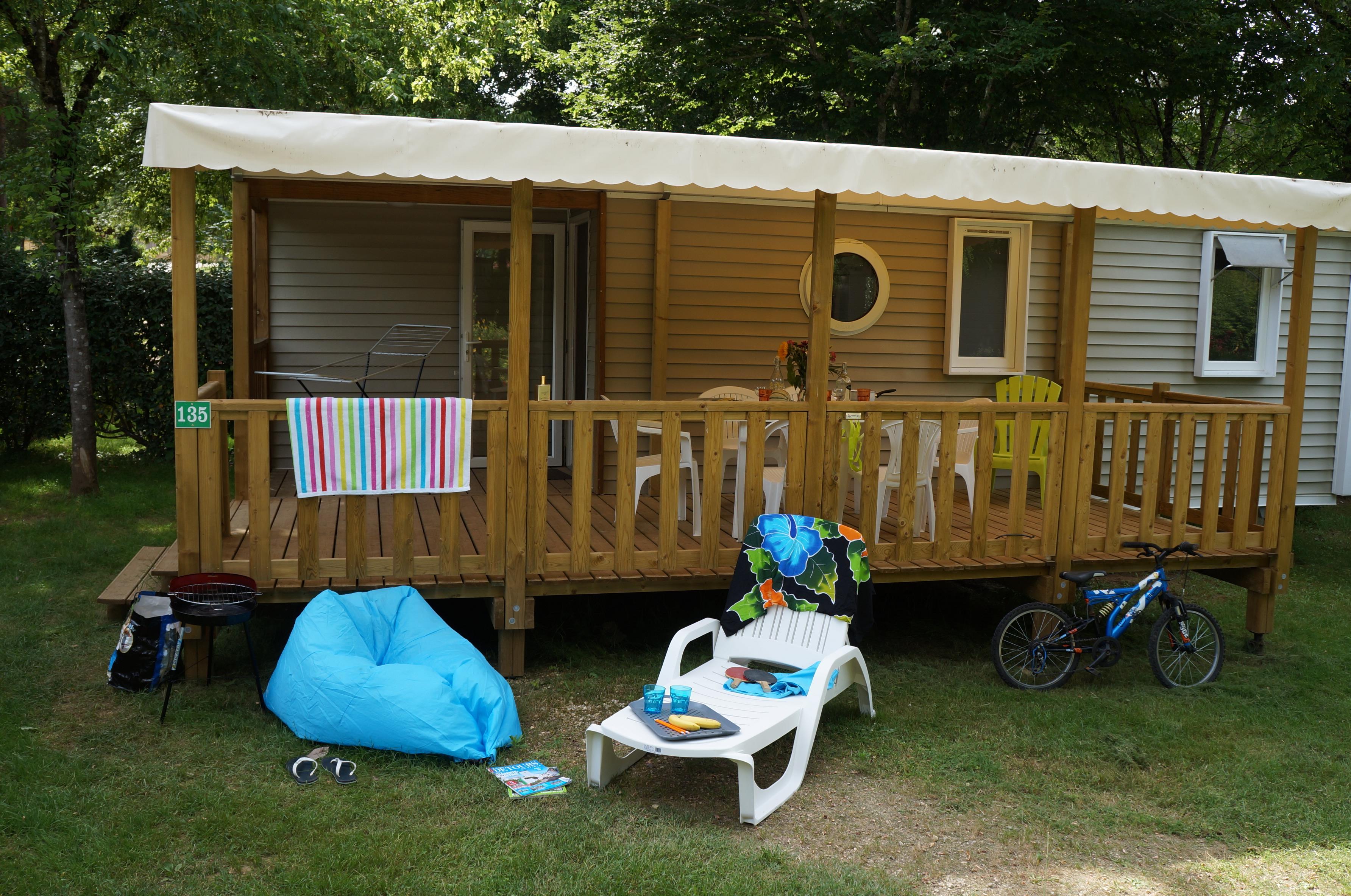 Location - Mobi Sarlat - Camping Domaine des Chênes Verts