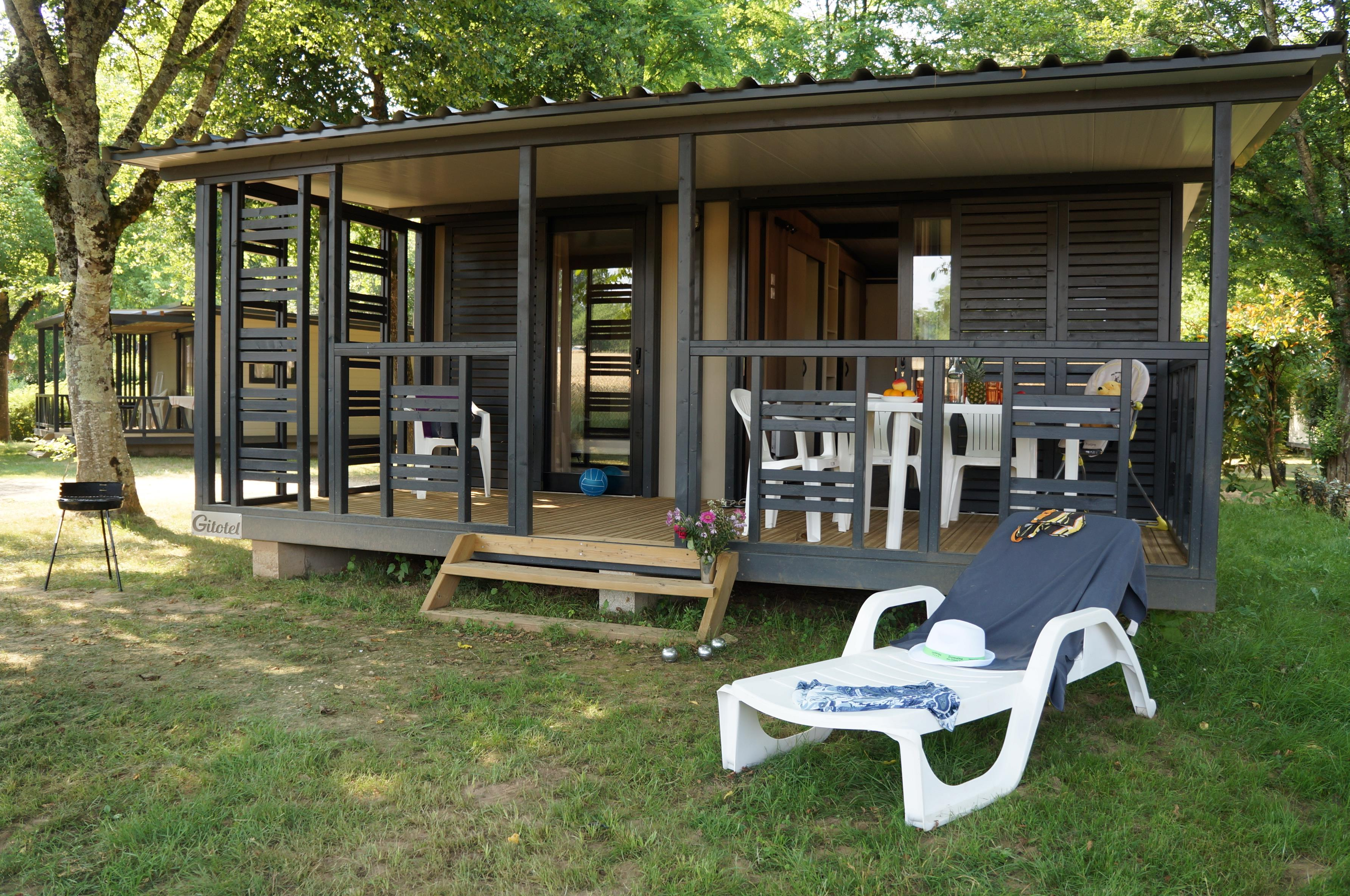 Location - Chalet Vitrac - Camping Domaine des Chênes Verts