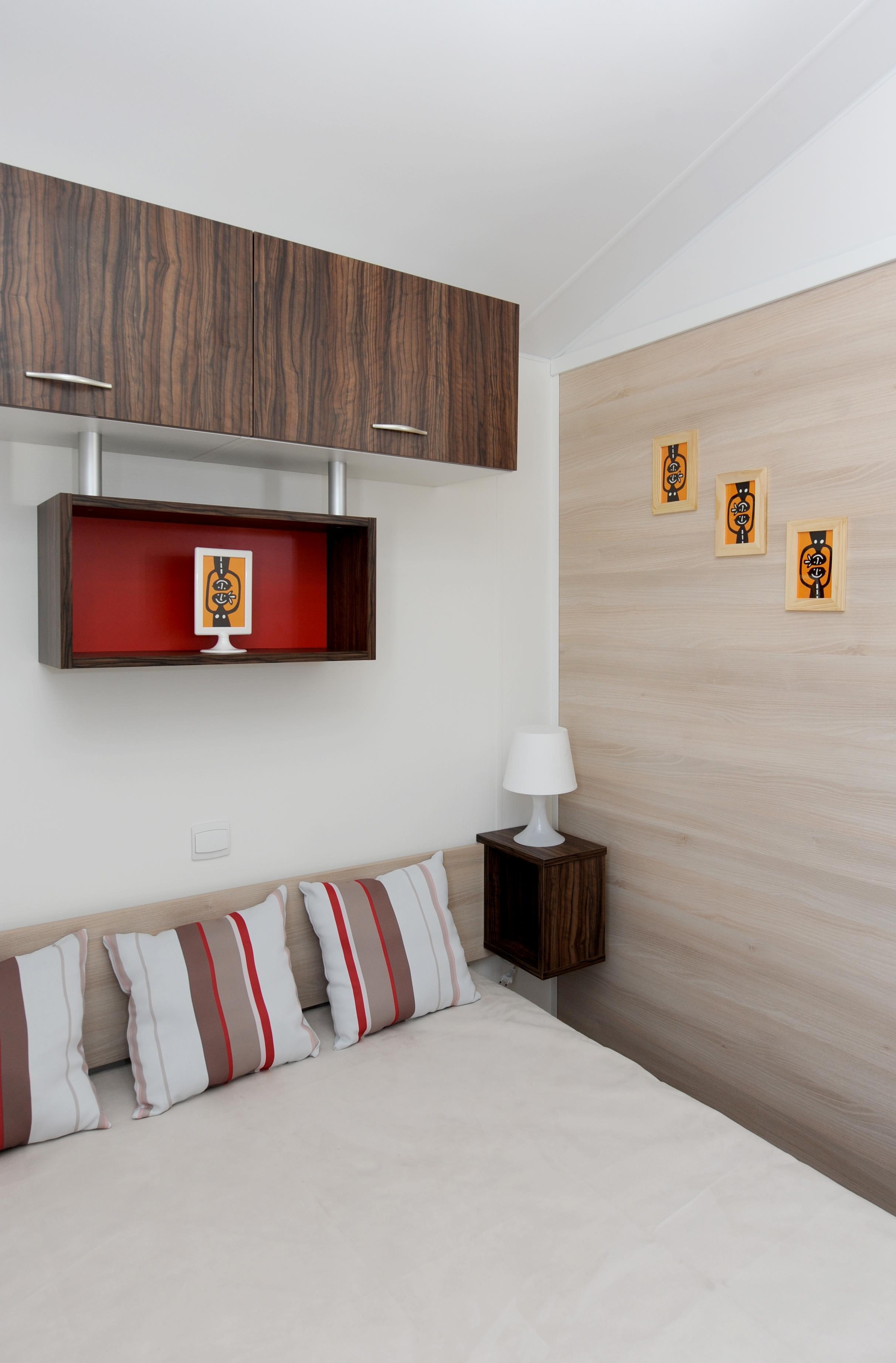 Mobilhome féérique 31m² (3 chambres ) Terrasse semi-couverte