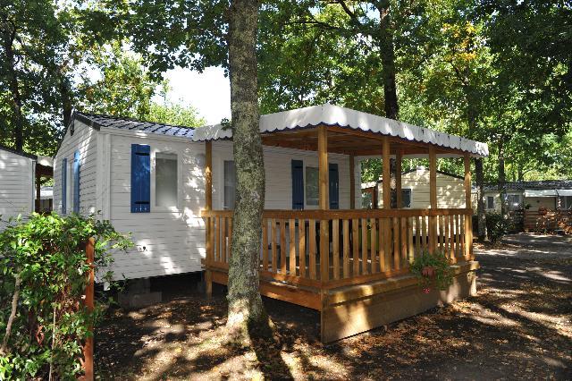 Mobil-home CONFORT+  23m² - 2 chambres + terrasse couverte