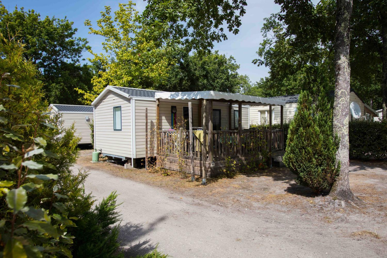 Mobil-home CONFORT+ 28m² - 2 chambres + terrasse couverte