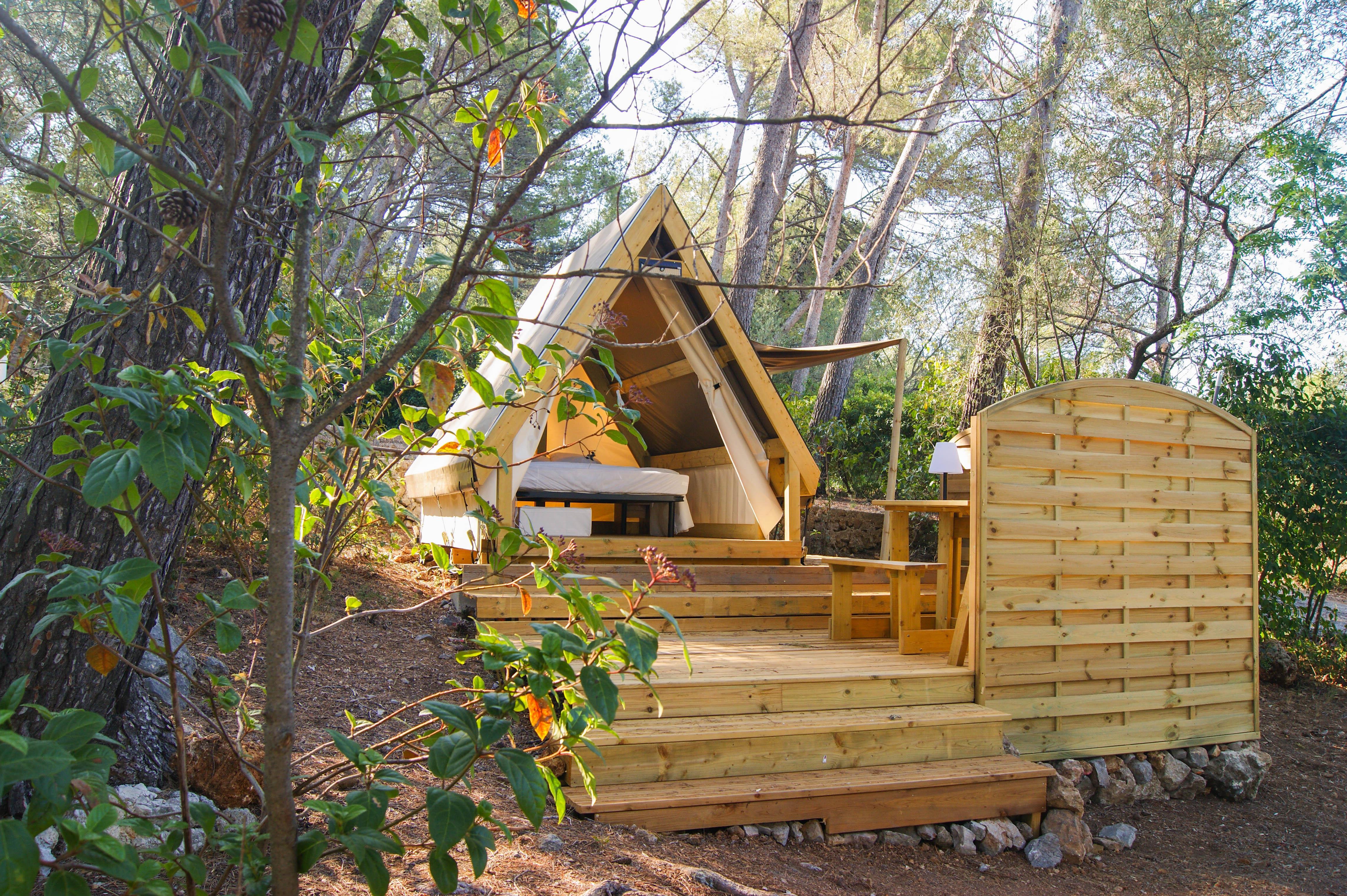 Location - Lodge Mini Cannelle 6M² Max 2 Personnes - Camping Le Beau Vezé