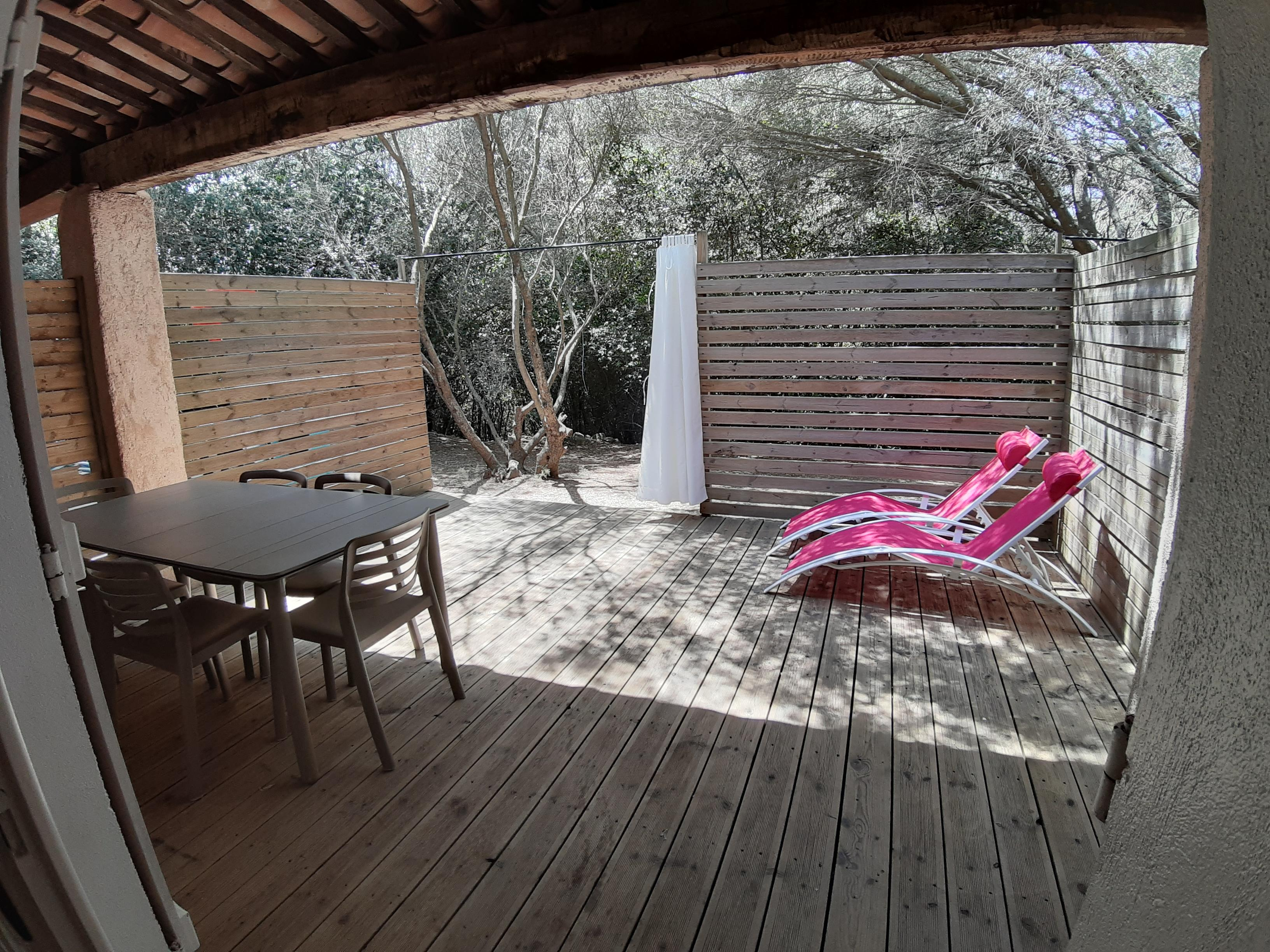 Location - Studio Cigalou 32 M² (Mezzanine 10 M²) - Camping Le Beau Vezé