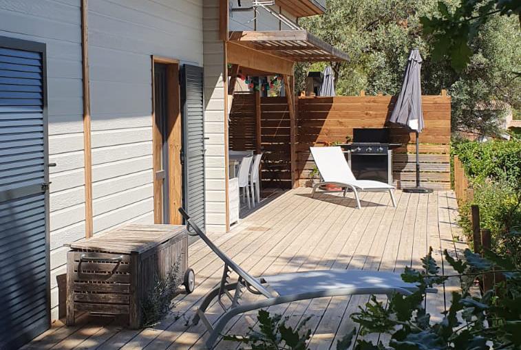 Location - Cottage Family 63M² (3 Chambres) - Camping Le Beau Vezé