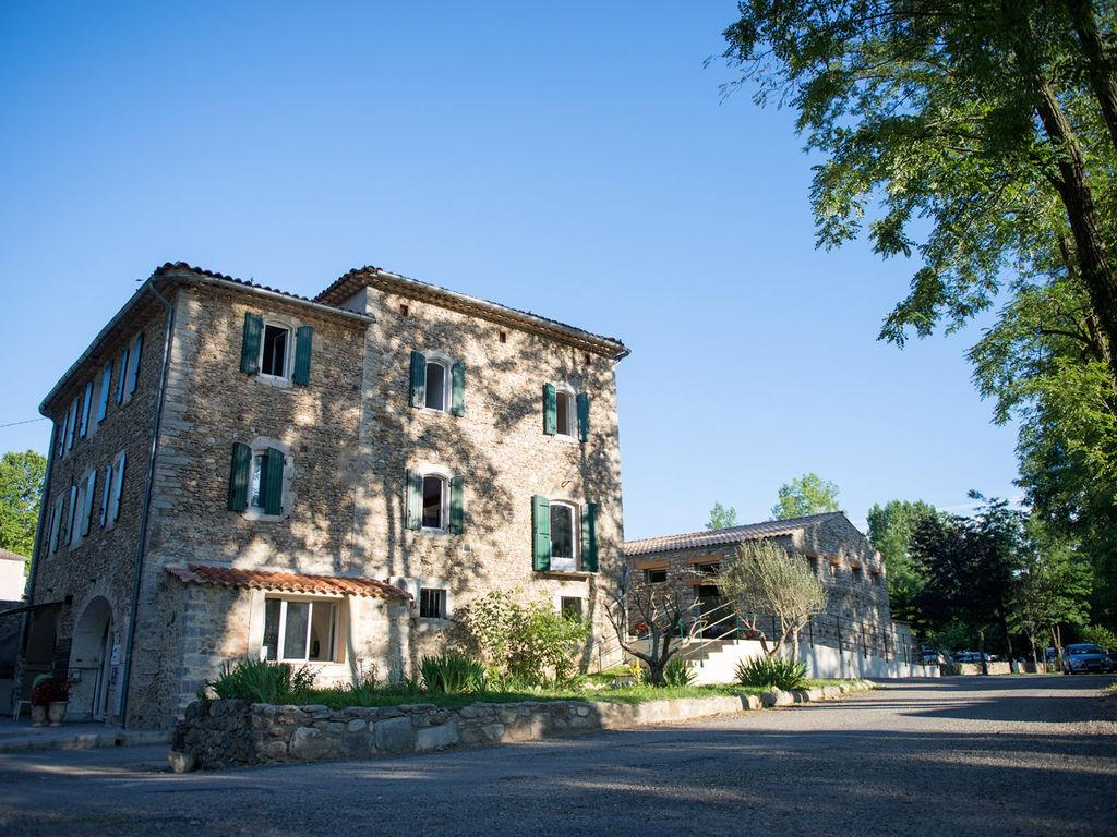Camping le Castel Rose, Anduze, Gard