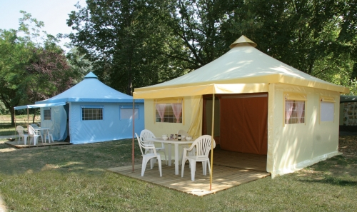 Location - Funflower 20 M² (2 Chambres) - Flower Camping Le Riviera