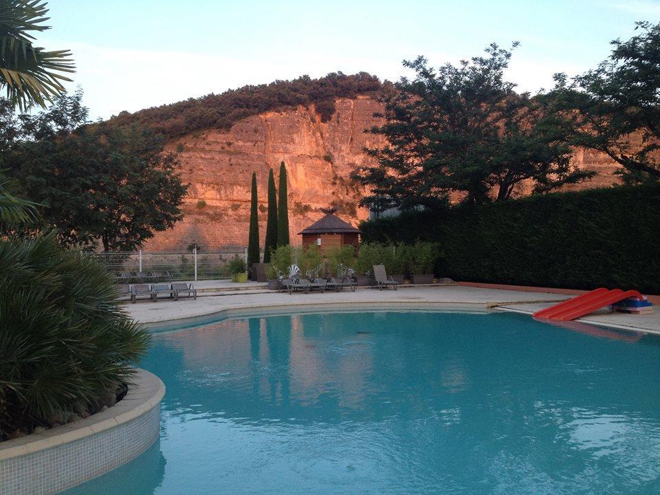 Camping le Riviera, Sampzon, Ardèche