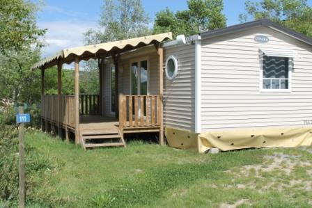 Accommodation - Mobile-Home Premium 30M² 2 Bedrooms Air Conditionning ; Tv ; Dishwasher - Flower CAMPING SAINT AMAND