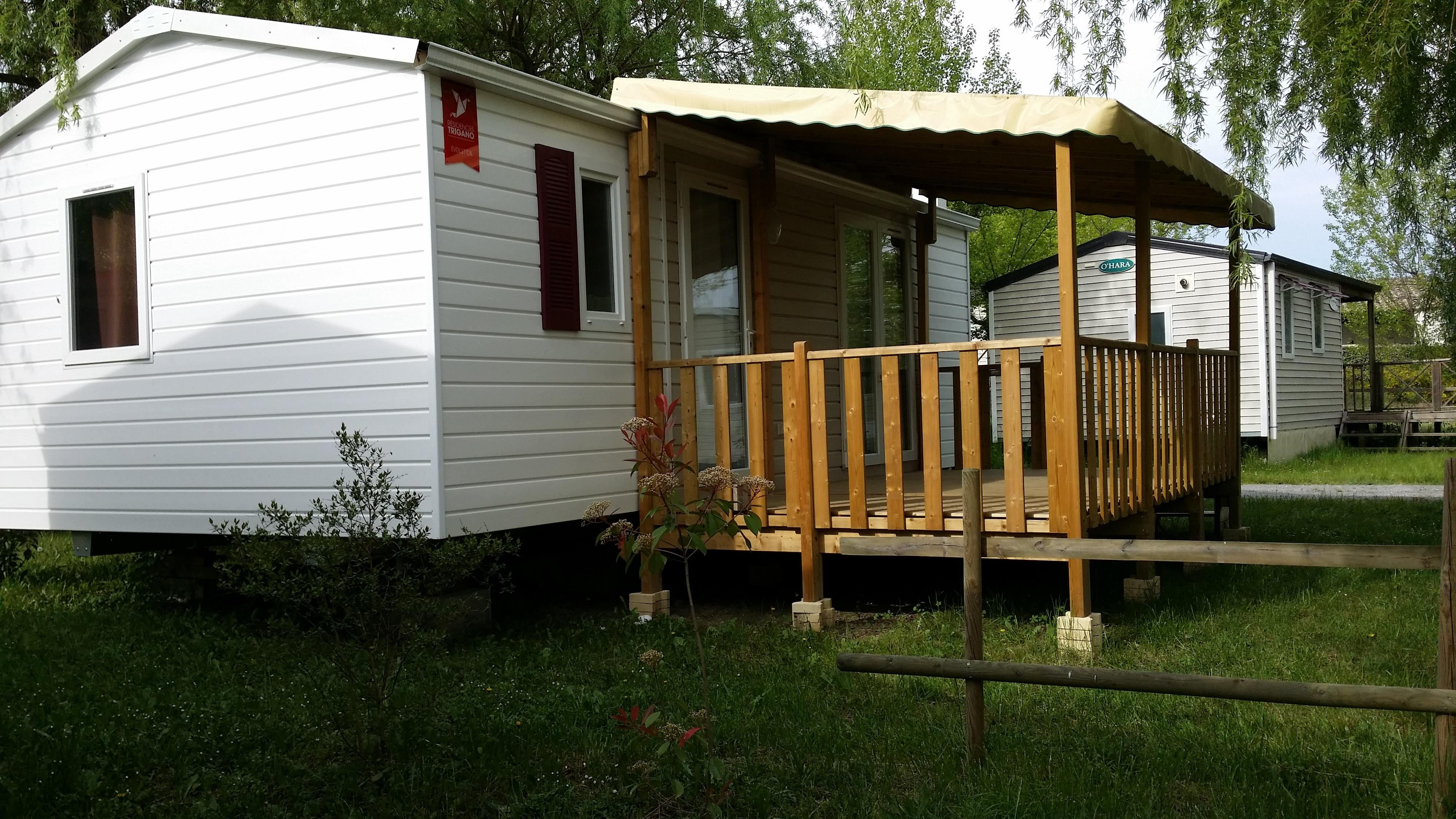 Accommodation - Mobile-Home Confort+ 29 M² 2 Bedrooms - Flower CAMPING SAINT AMAND