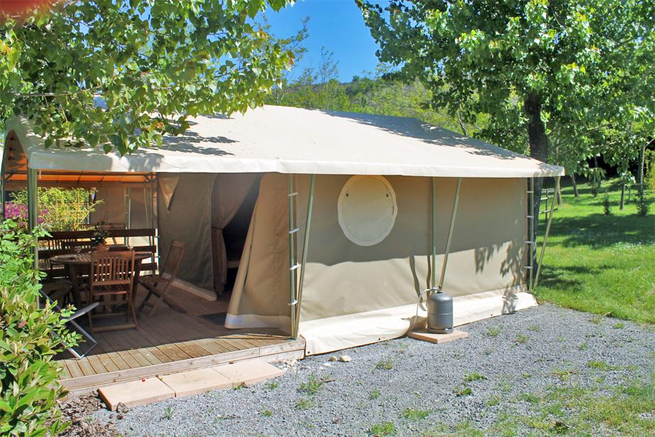 Accommodation - Lodge Canada Confort+ 35M² Without Toilet Blocks - Flower CAMPING SAINT AMAND