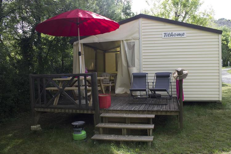 Accommodation - Tithome 21M² - Without Toilet Blocks - Flower CAMPING SAINT AMAND