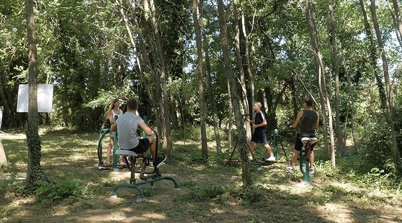 Sport activities Flower Camping Saint Amand - Laurac En Vivarais