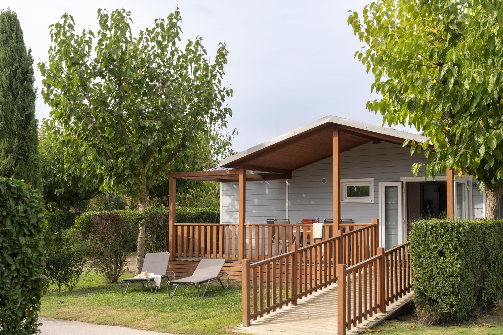 Accommodation - Bungalow Especial Premium - For Disabled Persons - Camping L'Amfora