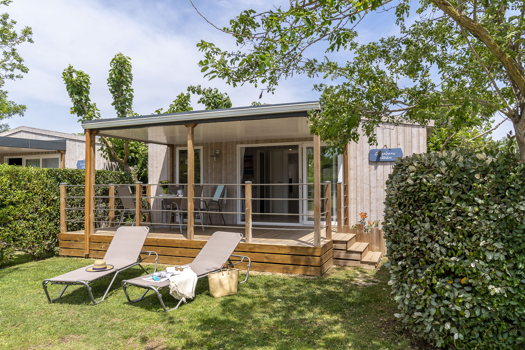 Accommodation - Mobilhome Cosy - Camping L'Amfora