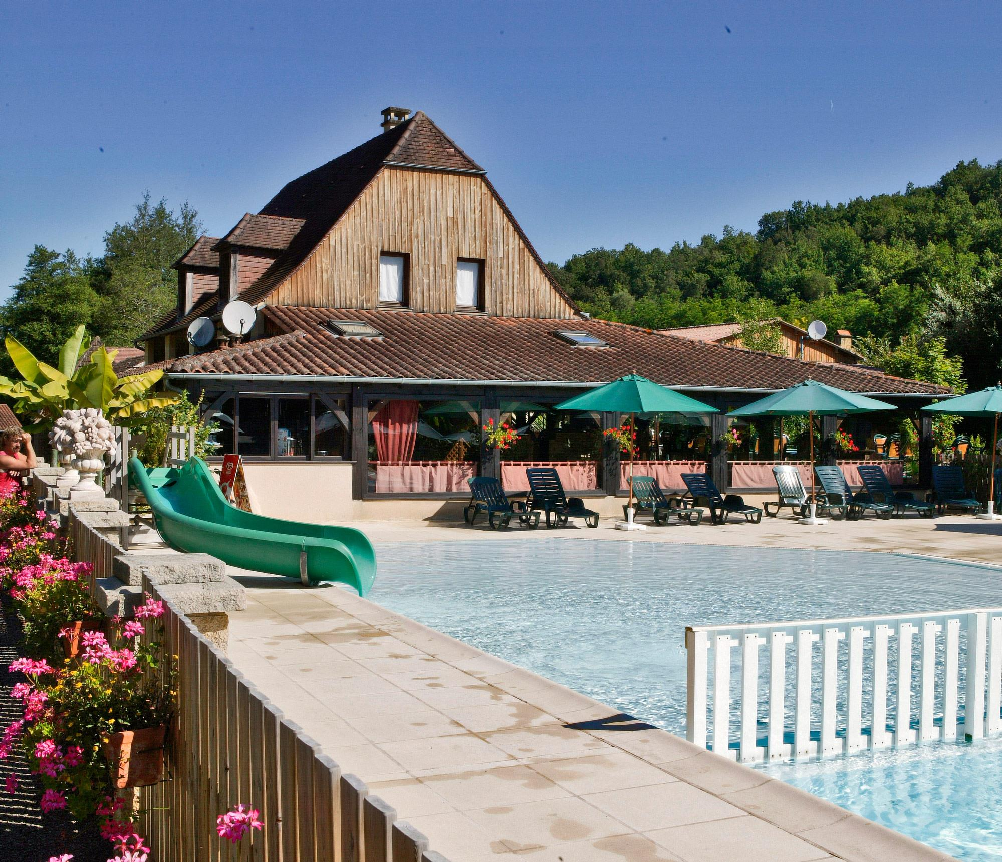 Camping le Moulin du Roch, Sarlat, Dordogne