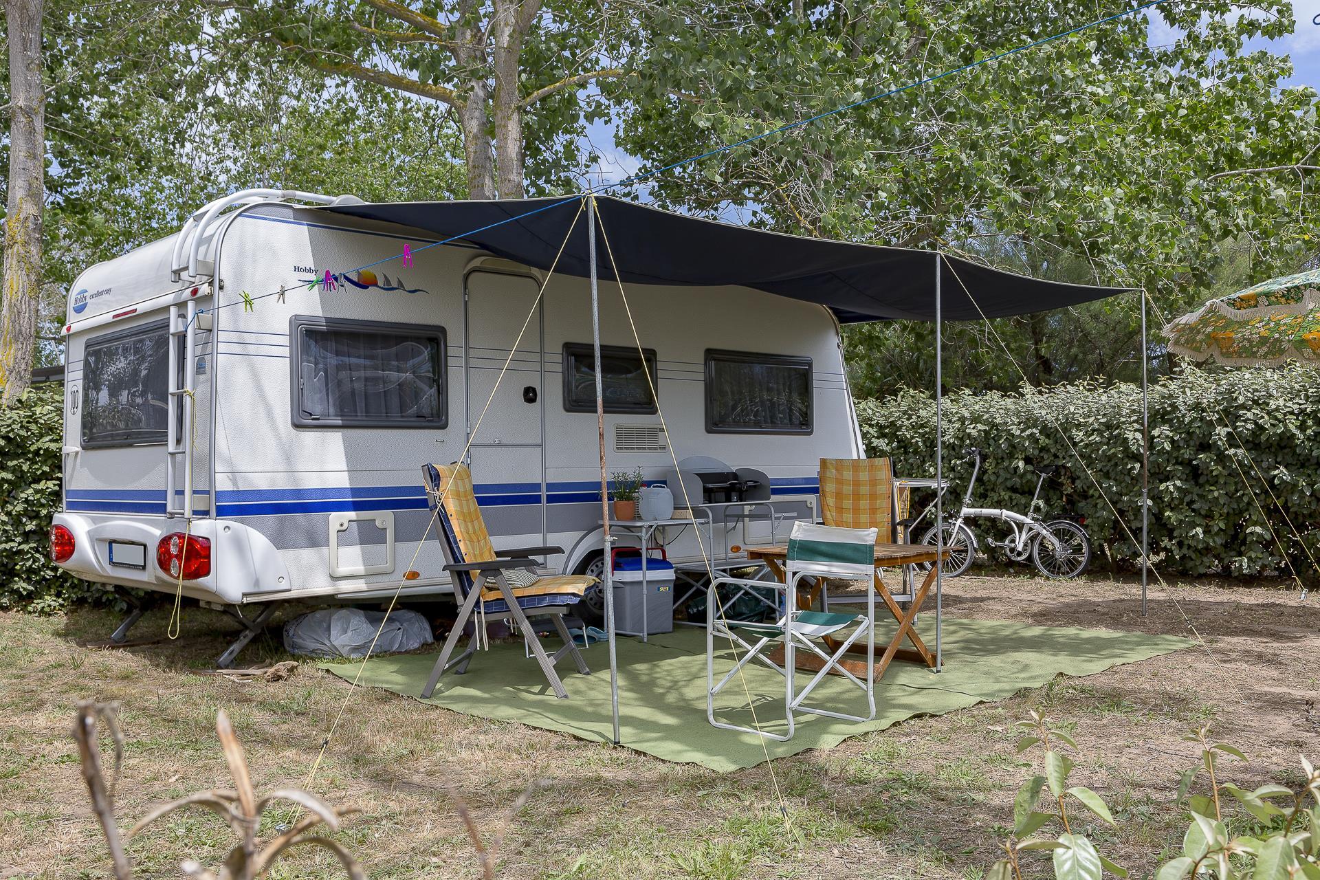 Emplacement - Forfait Emplacement ** - Camping Sandaya Blue Bayou