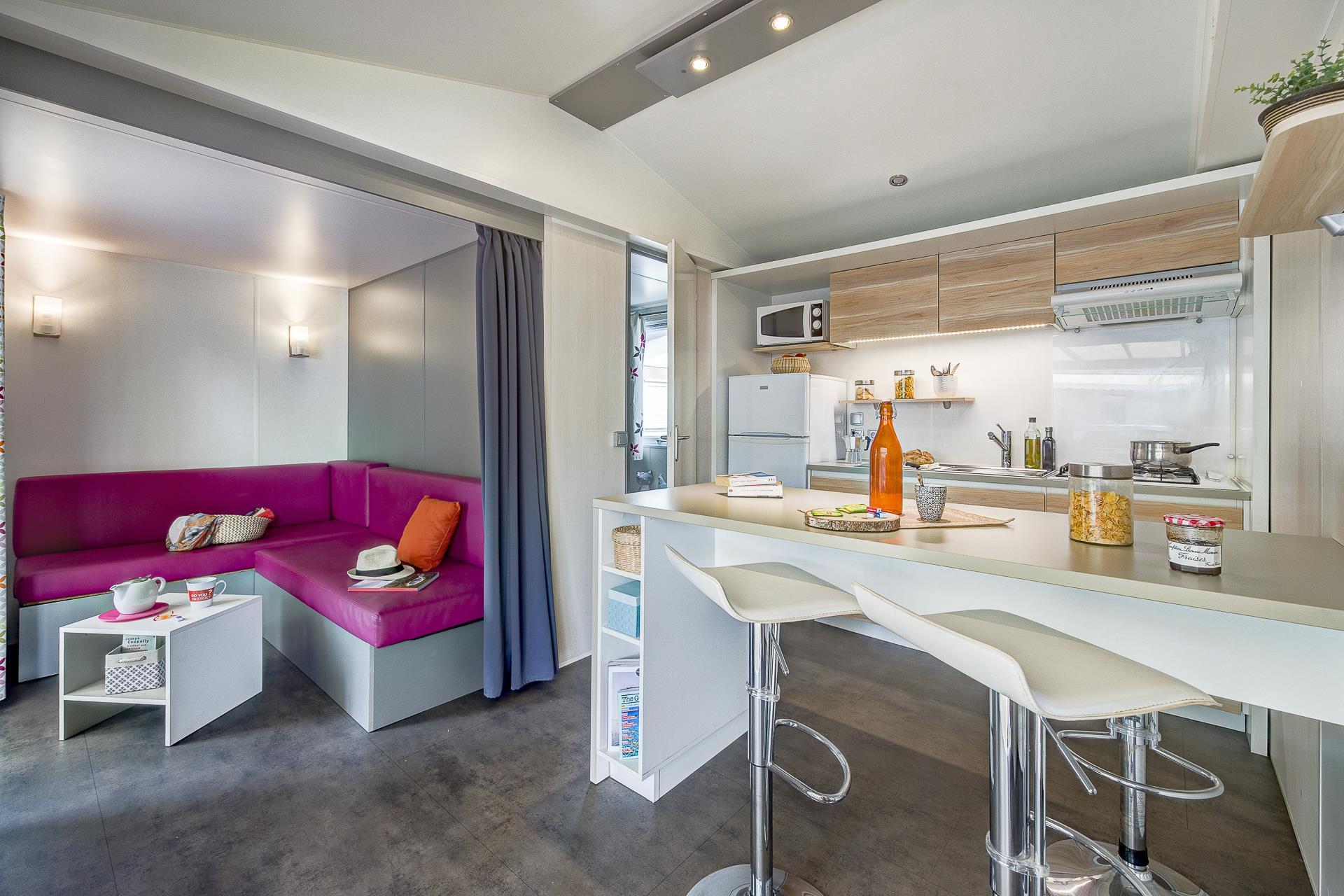 Location - Cottage 2 Chambres*** - Camping Sandaya Blue Bayou