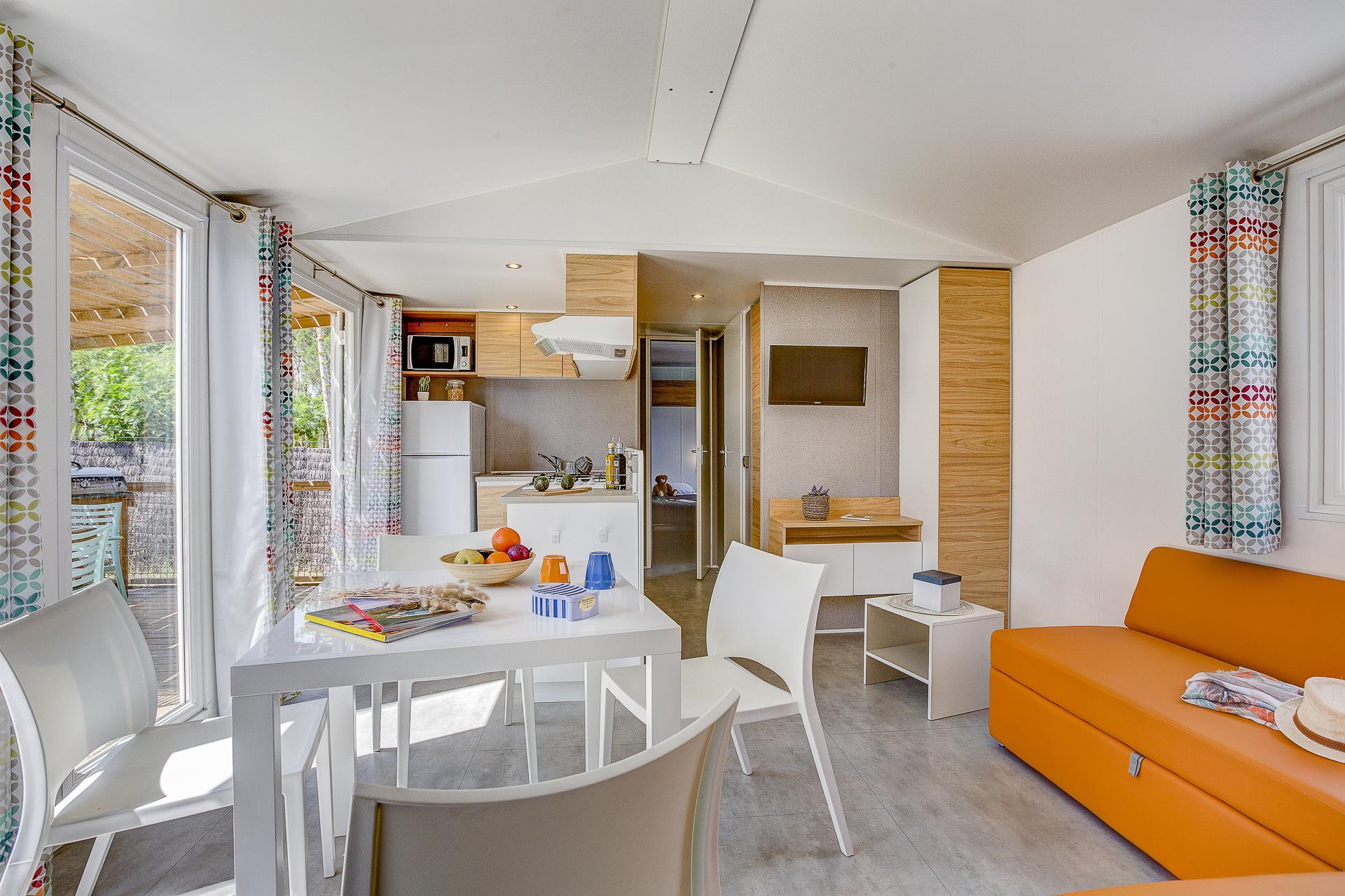 Location - Cottage Eden Family 3 Chambres 2 Salles De Bain Climatisé Premium - Camping Sandaya Blue Bayou