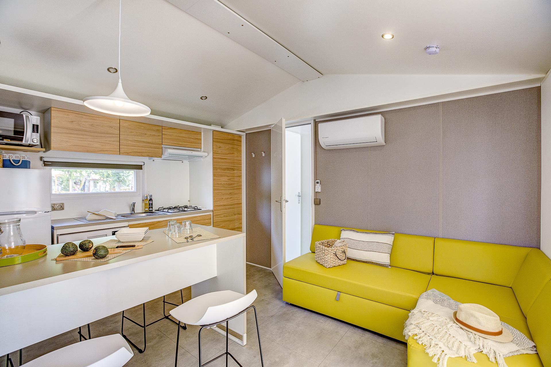 Location - Cottage Beach Garden 2 Chambres 2 Salles De Bain Climatisé Premium - Camping Sandaya Blue Bayou