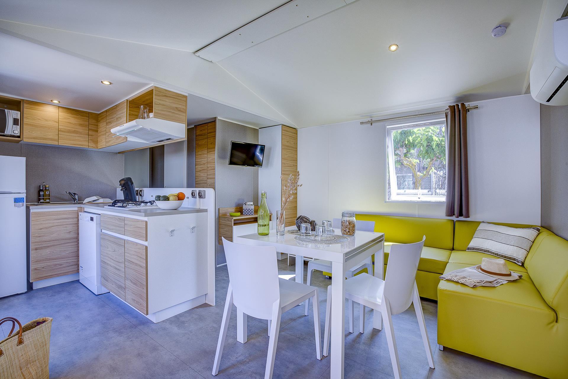 Location - Cottage Beach Garden 3 Chambres 2 Salles De Bain Climatisé Premium - Camping Sandaya Blue Bayou