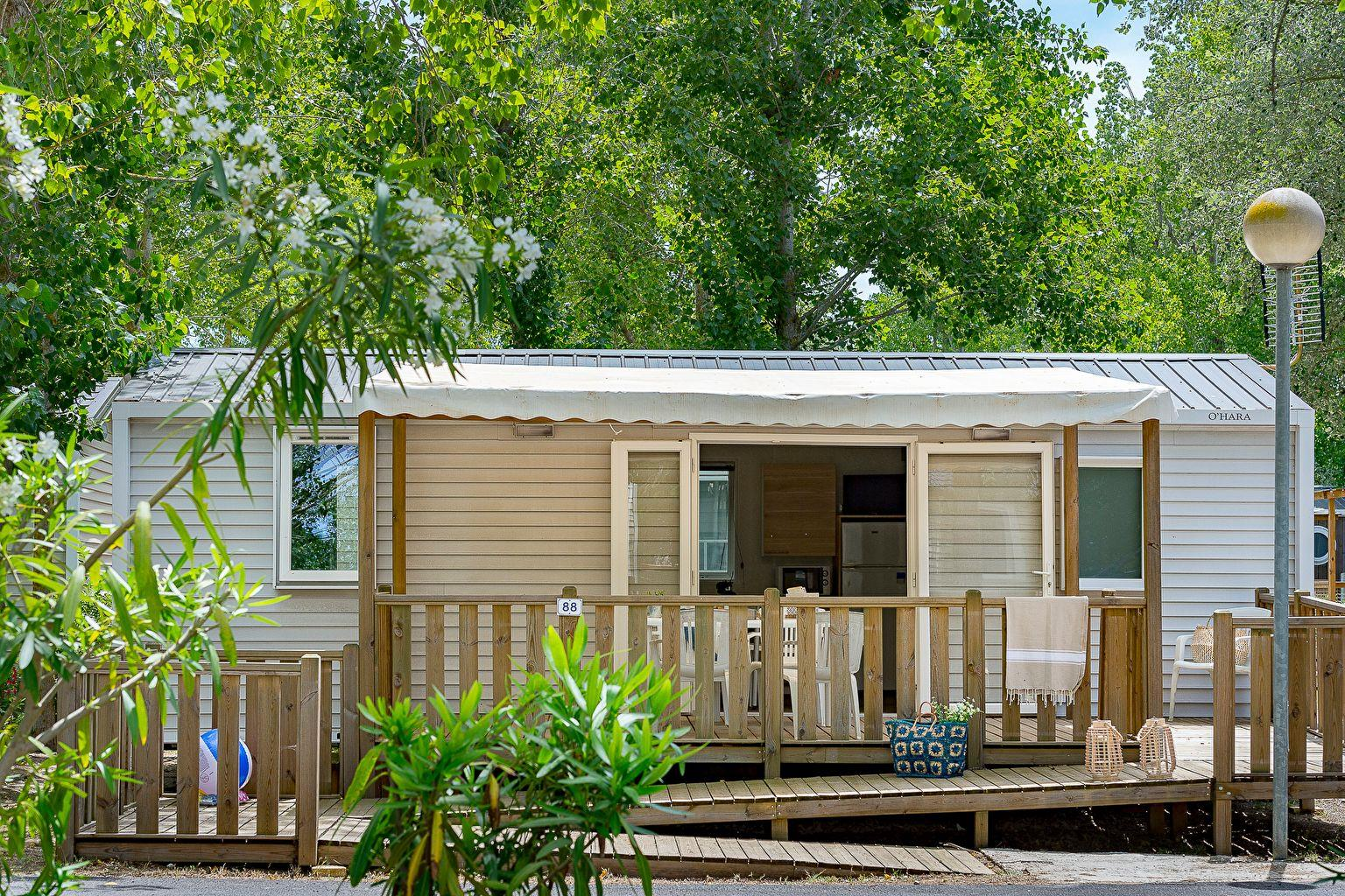 Location - Cottage 2 Chambres *** Adapté Aux Personnes À Mobilité Réduite - Camping Sandaya Blue Bayou