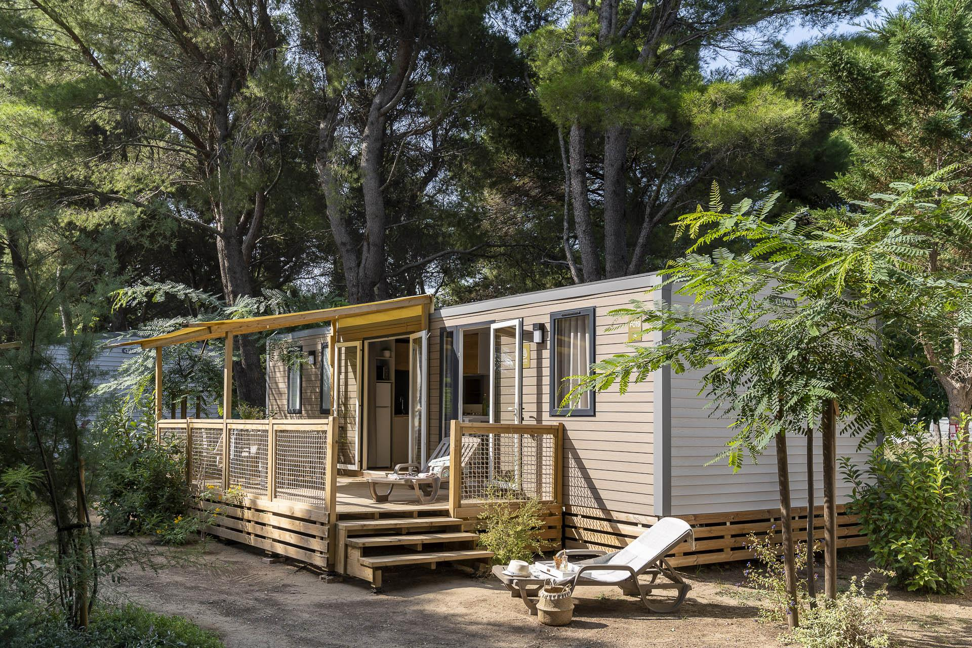 Location - Cottage 3 Chambres 2 Salles De Bain Climatisation**** - Camping Sandaya Blue Bayou
