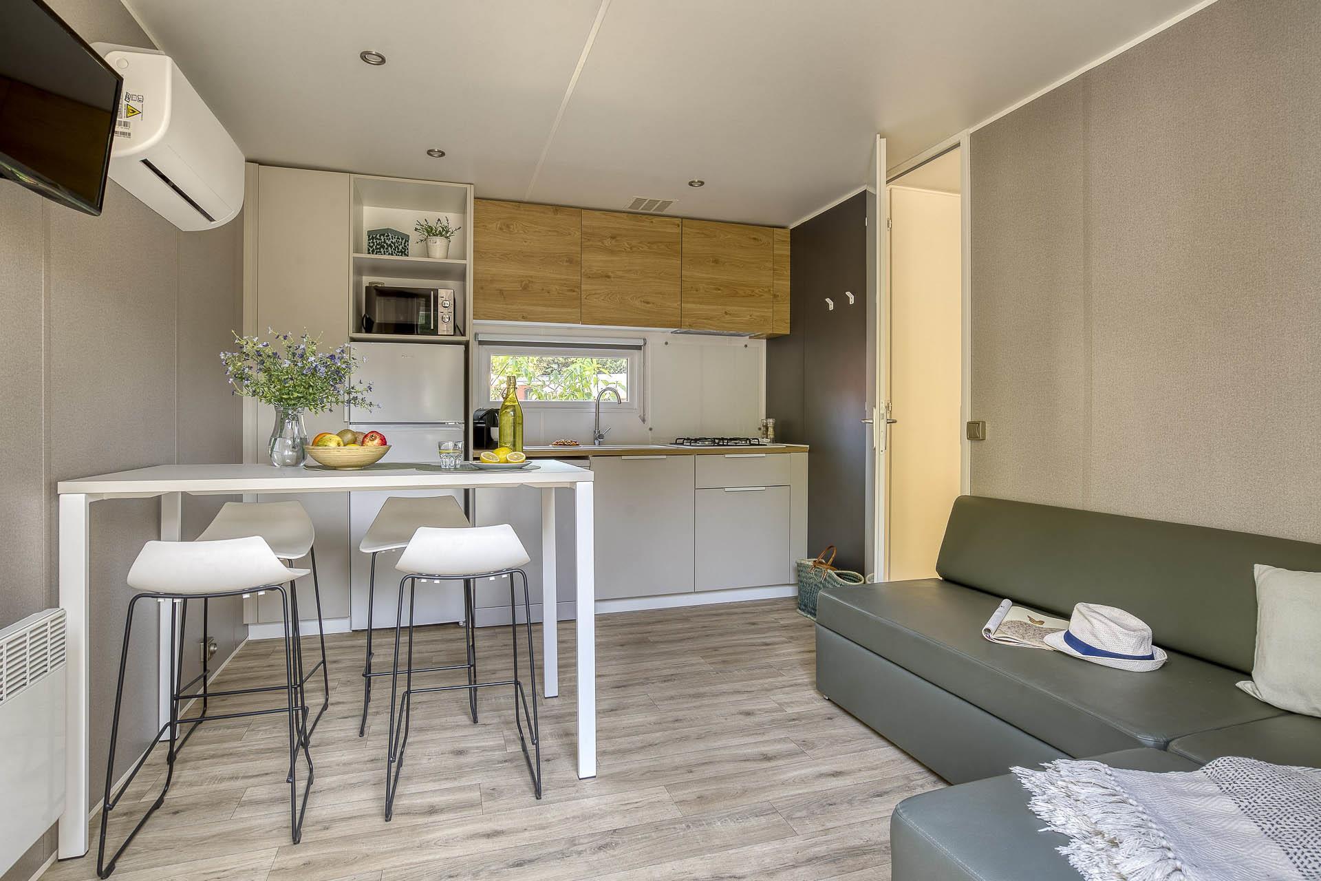 Location - Cottage 2 Chambres 2 Salles De Bain Climatisé**** - Camping Sandaya Blue Bayou