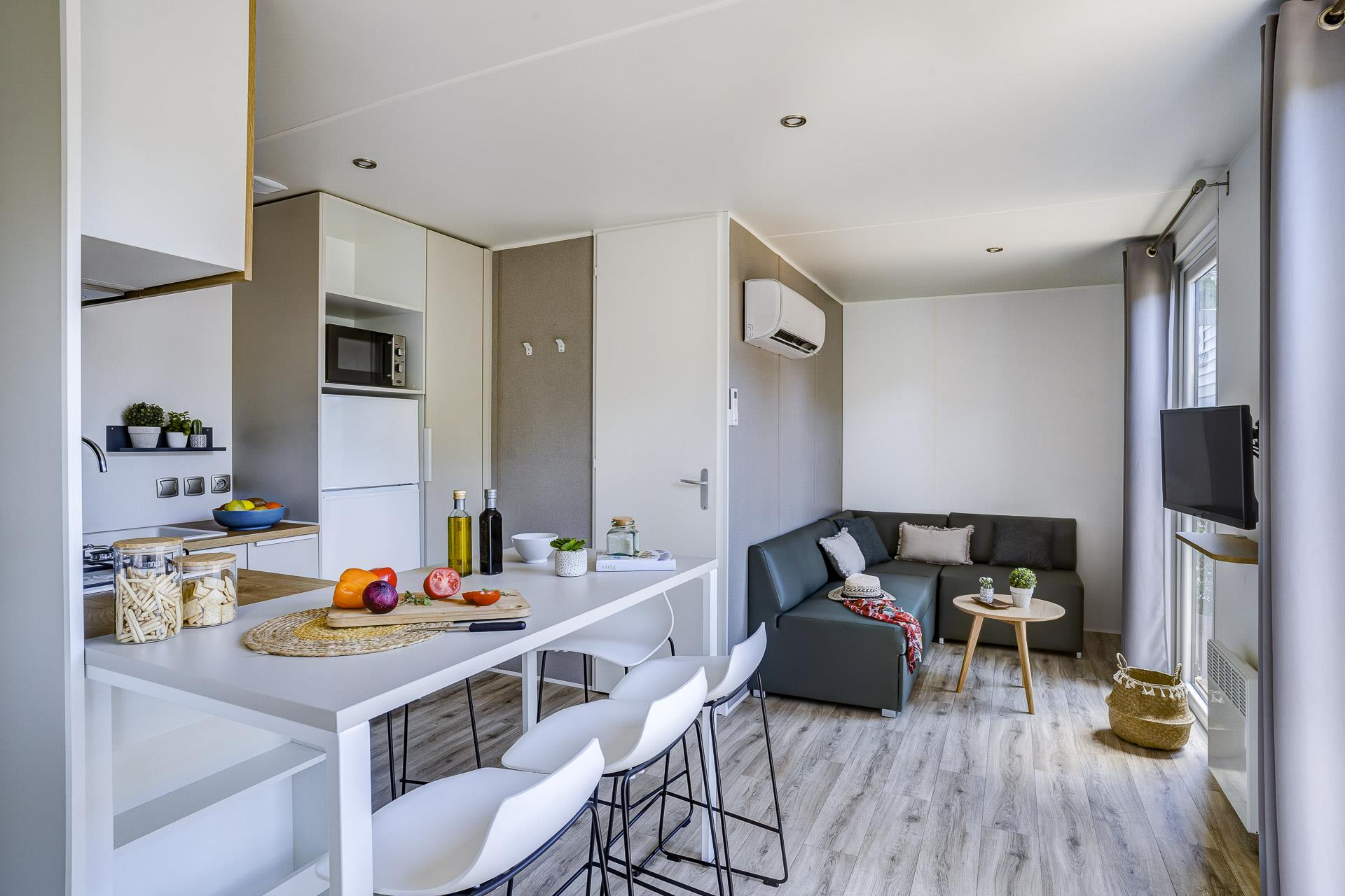 Location - Cottage Friends 5 Chambres **** - Camping Sandaya Blue Bayou