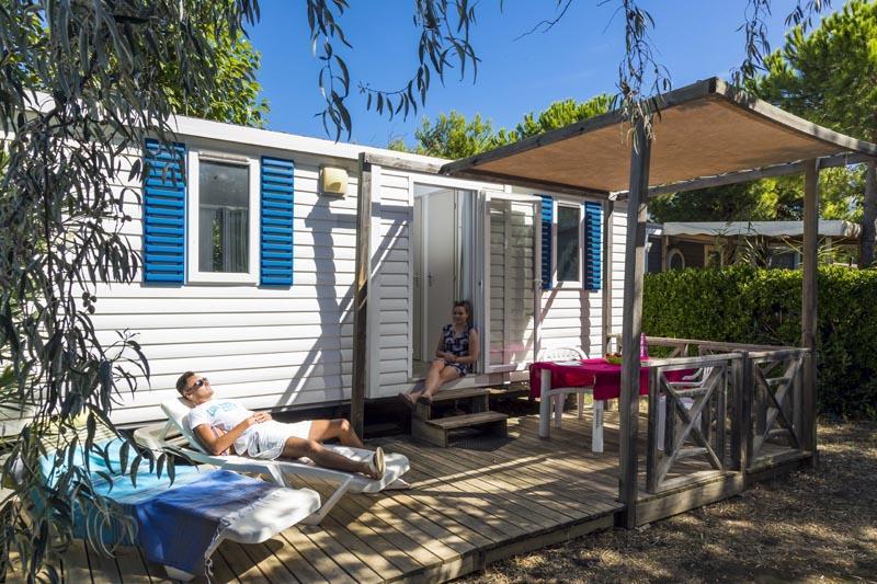 Location - Mobil Home Confort 2 Chambres (Samedi/Samedi) - Village Camping Marisol